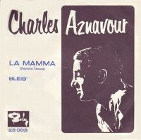 Cover Charles Aznavour - La mamma [Deutsche Aufnahme]
